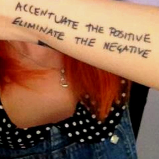 Hayley Williams tattoo