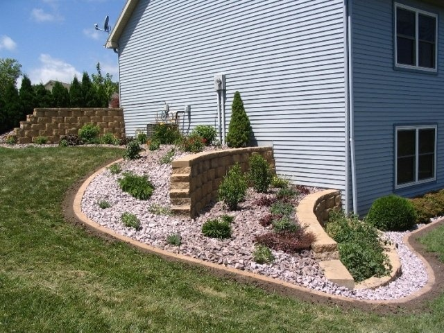 stunning easy landscaping ideas for a hill 17 looks inspiration article - Garden Ideas On A Hill