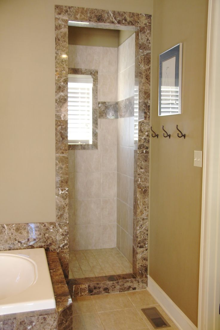 doorless shower in a manageable size for the home doorless shower ...