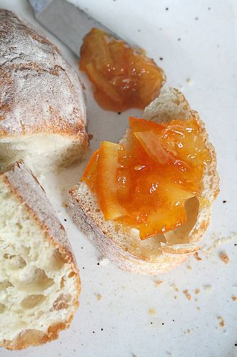 Orange marmalade... I have a bunch of oranges in the house from the ...