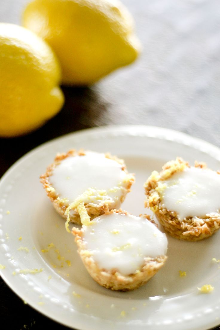 Mini Coconut Lemon Tarts (S) | Recipes | Pinterest