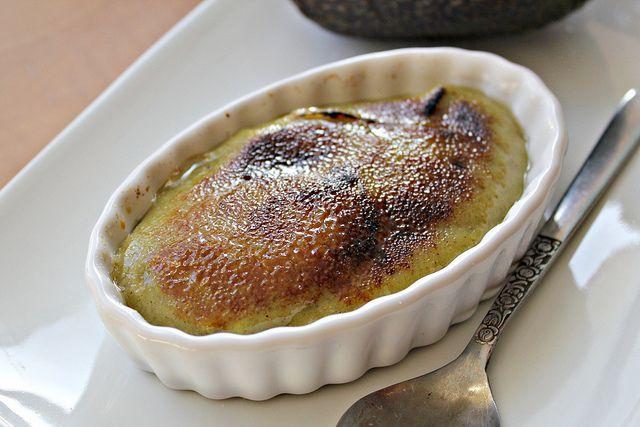 Avocado Pistachio Creme Brulee {VEGAN} - Dessert Wars