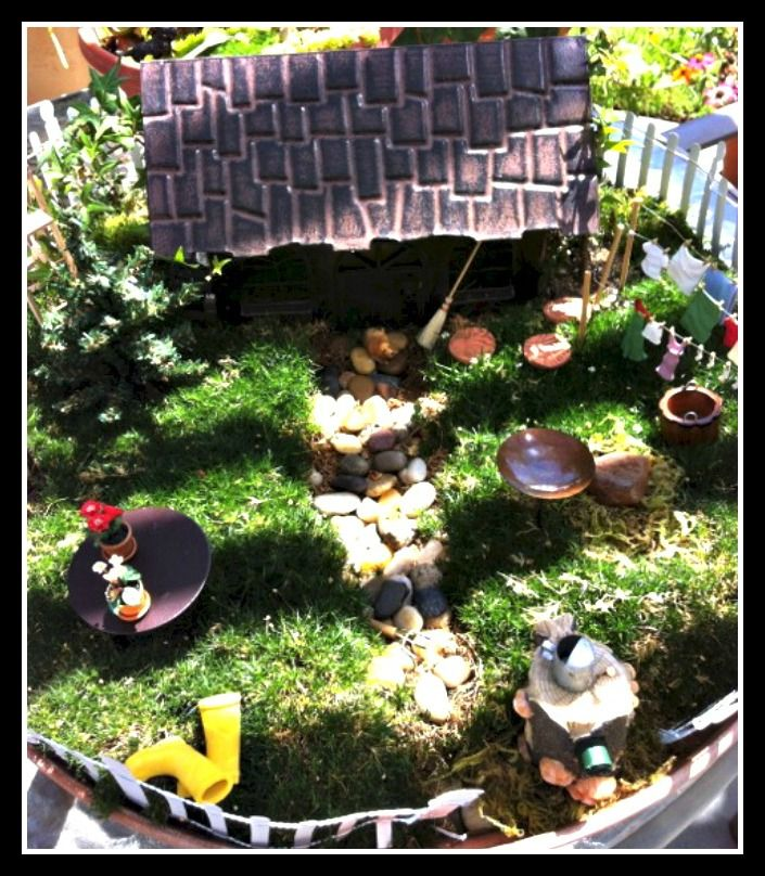 Fairy Home And Garden Fabulous Fairy Gardens Pinterest