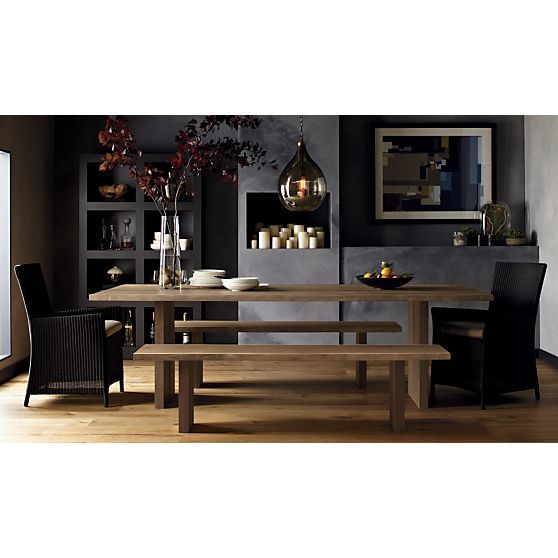 Dining Table Crate Barrel Dakota Dining Table