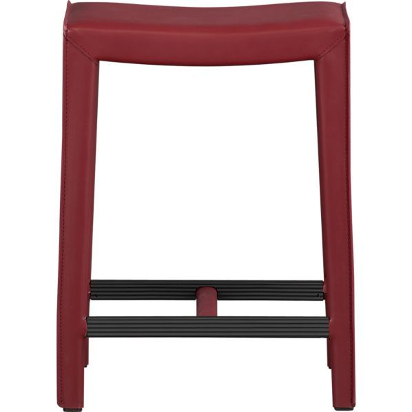 Folio Bonded Leather 24 Quot Backless Counter Stool