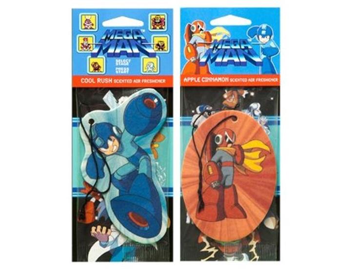 Mega Man & Proto Man Air Freshener Set