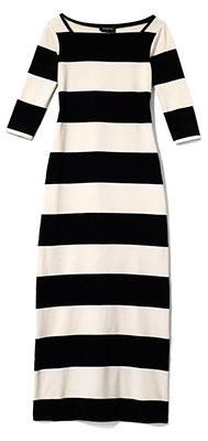 Black  White Maxi Dress on Black And White Striped Maxi Dress  Stripes Stripes    Yin Yang