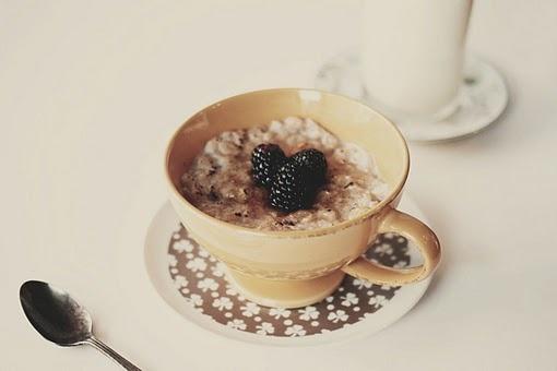 oatmeal brulee -- oatmeal with a sugary crackly top!