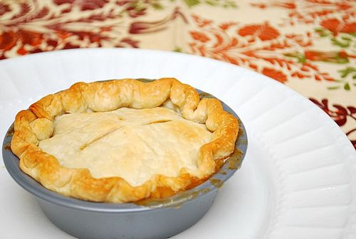 Individual Chicken Pot Pies | Entrees | Pinterest
