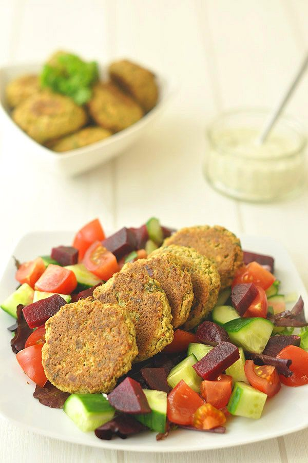 Baked Falafel - a healthier option that's just as delicious!