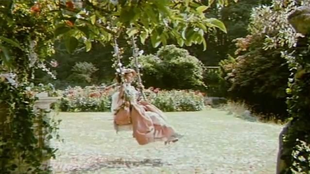 """The Slipper And The Rose- Fragonard's """"The Swing"""" brought to life."""