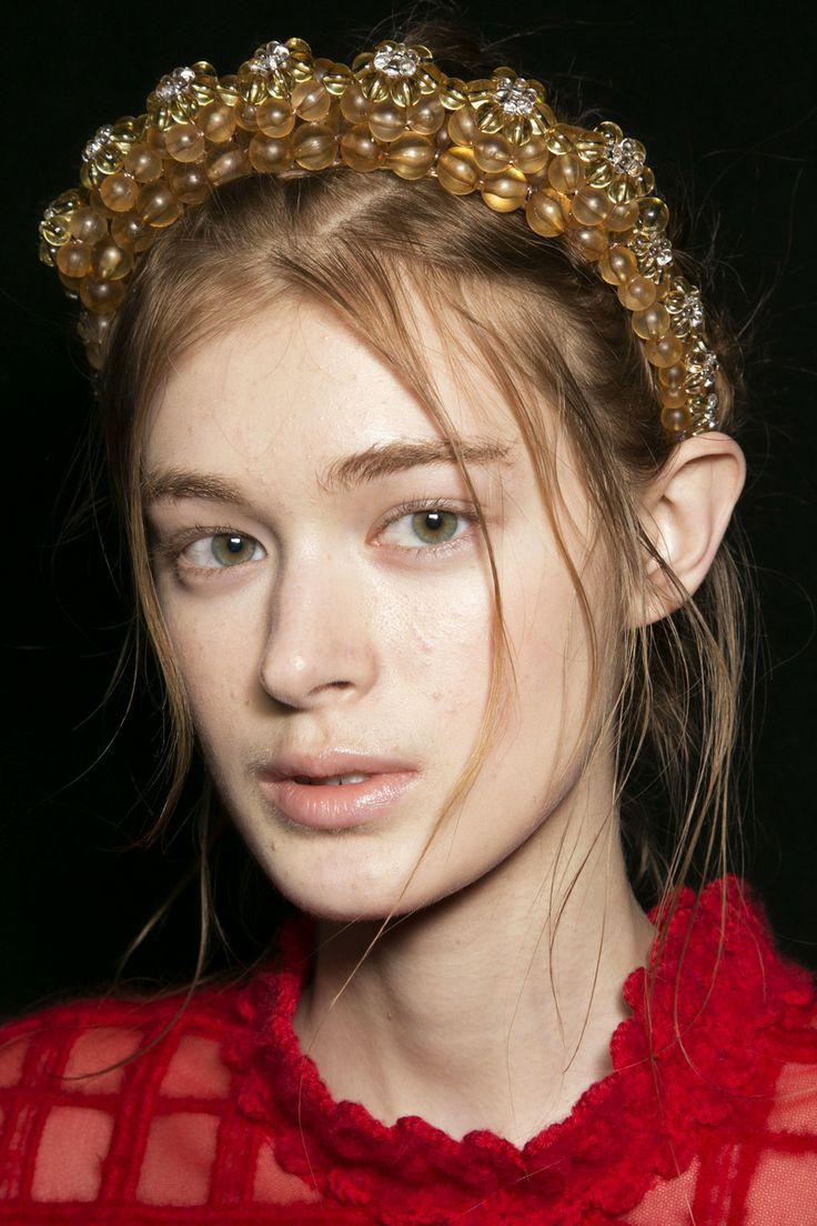 Simone Rocha Fall 2014 Beaded Headband