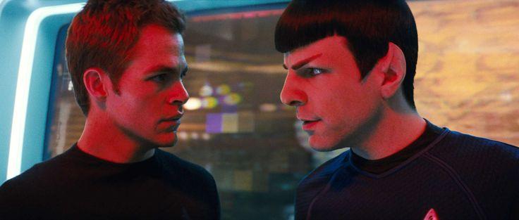 Star Trek 2009 Kirk and Spock