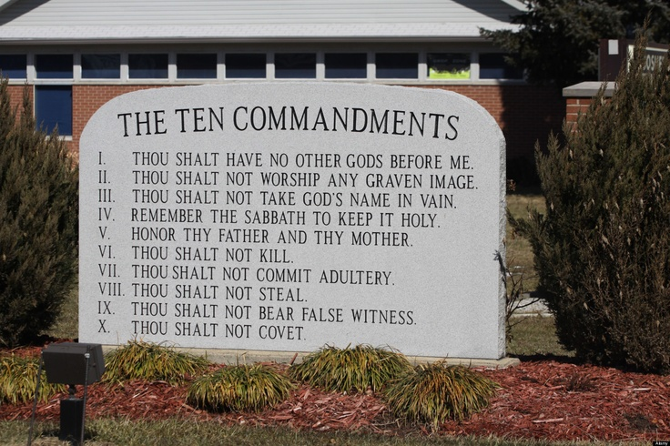 the reasons why the ten commandments should be in public schools If you are in business, customer service is an integral part of your job be a hit with your customers using the 10 commandments of great customer service.