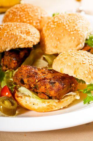 Jamaican Jerk Burger   Recipe International