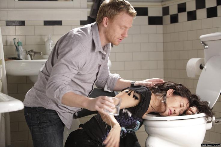 ... Anatomy: 7.09 'Slow Night, So Long' - Cristina Yang and Owen Hunt