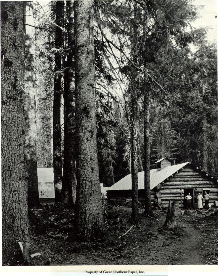 Logging camp wi... Logging Camp History
