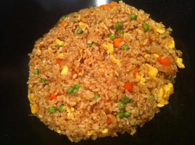 Fried Brown Rice | recipes | Pinterest