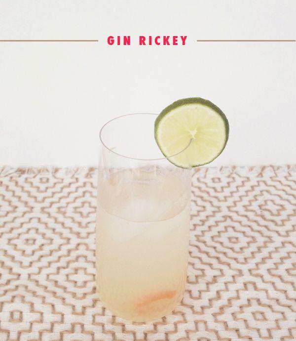 Gin Rickey | Booze | Pinterest