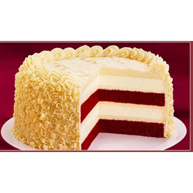 ... Cheesecake Factory Red Velvet Cheesecake - better than heaven on earth