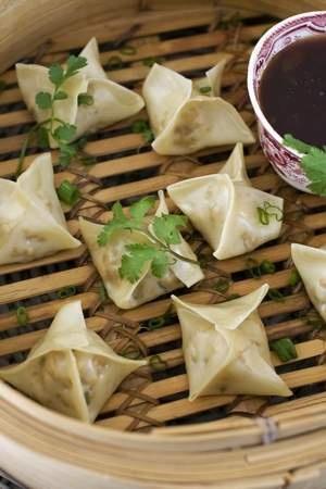 Easy Steamed Vegetable Dumplings Recipe — Dishmaps