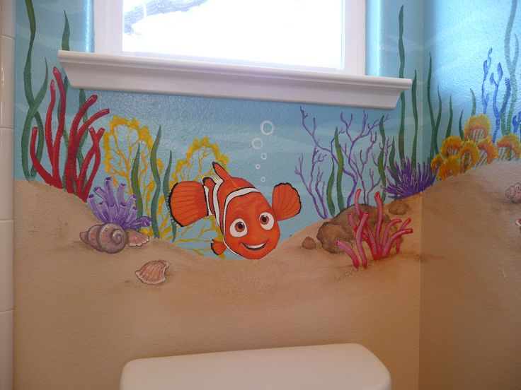 finding nemo bathroom artist kyle king realistic home