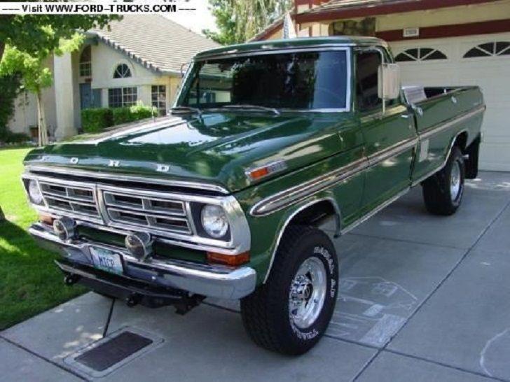 1972 F250 4x4 For Sale On Craigslist | Autos Weblog