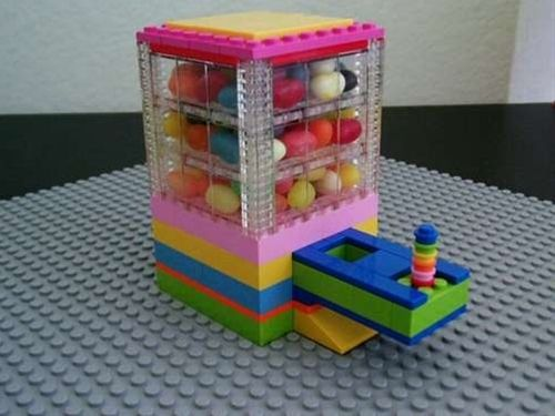 instructions for a lego candy machine