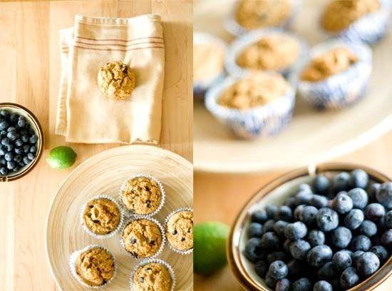 gluten free blueberry lime muffins | Gluten Free Breakfast | Pinterest