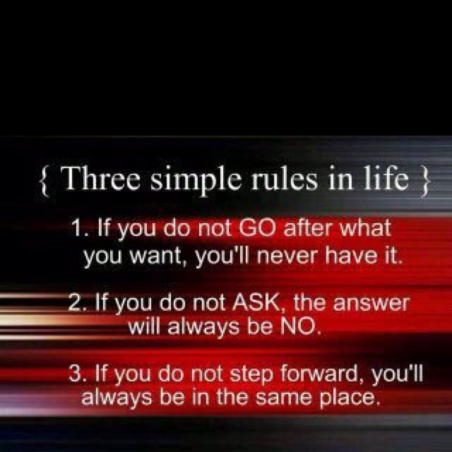 Easy Quotes To Live By: 3 Simple Rules To Live By