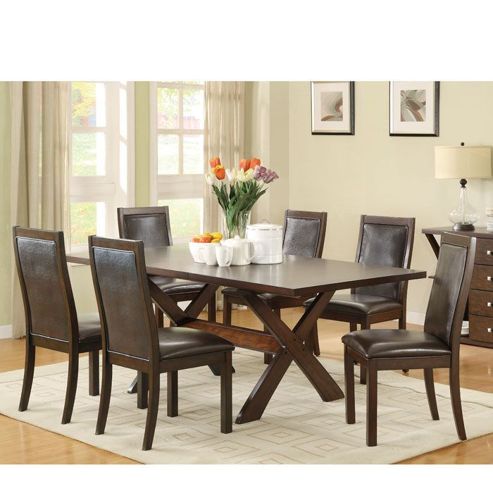 Brookstone Emerson X Base Dining Table 63 X 40 335