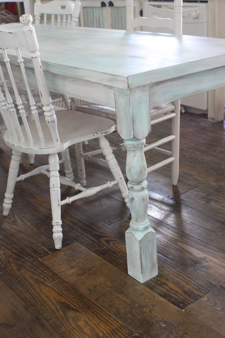 diy shabby chic farmhouse table ttu housing pinterest. Black Bedroom Furniture Sets. Home Design Ideas