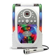 Singing Machine Portable Karaoke with Built-in Light Show