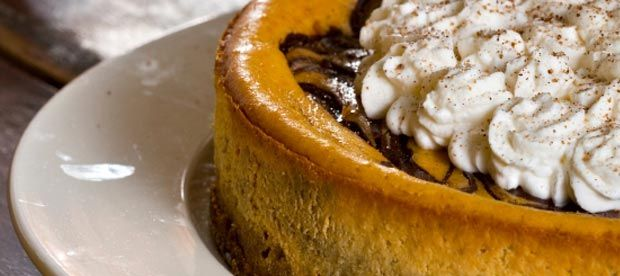 Double Layer Pumpkin Cheesecake | Turkeys - Hams - Prime Rib & Sides ...