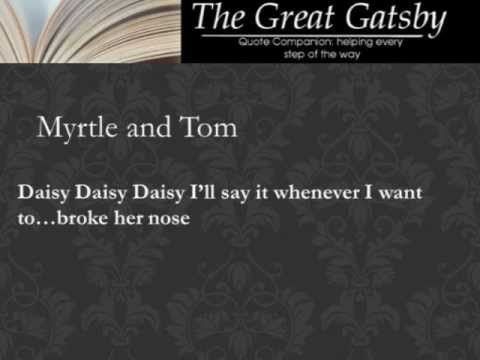 the great gatsby quote analysis Litcharts makes it easy to find quotes by chapter, character, and theme we assign a color and icon like this one to each theme, making it easy to track which themes apply to each quote below note: all page numbers and citation info for the quotes below refer to the scribner edition of the great .