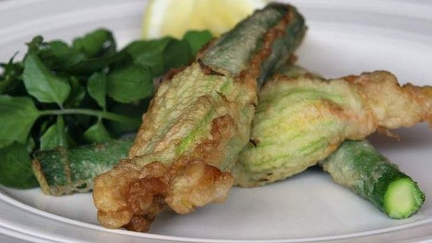 Three cheese stuffed zucchini flowers | Recipes - New Things to Try ...