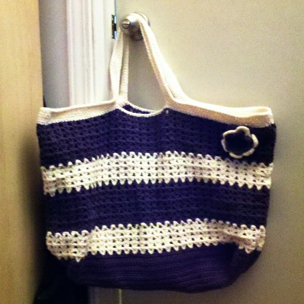 Beach Bag Crochet : Crochet beach bag Crochet Ive Made Pinterest