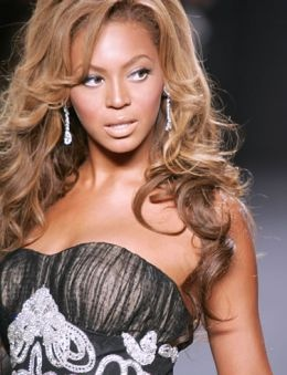 Beyonce with Her Real Hair