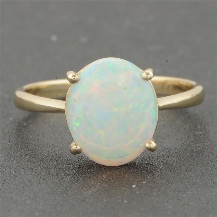 gold opal ring jewelry
