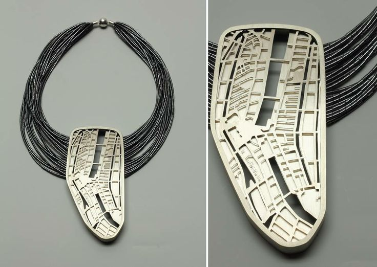 "Francis Willemstijn - Necklace ""The streets we walked"" , 2014 