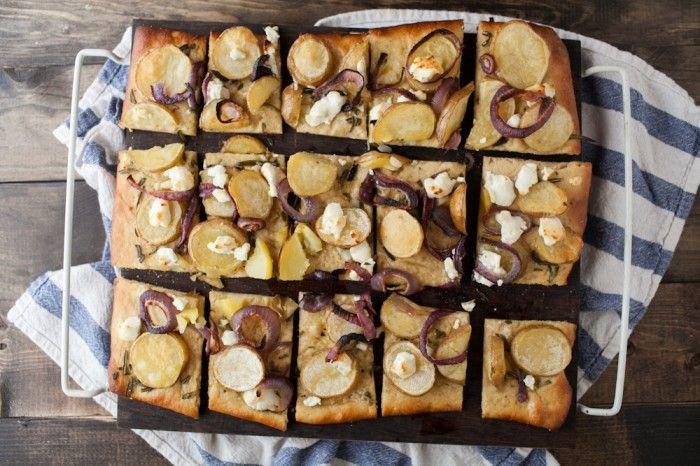 Naturally Ella | Roasted Potato, Rosemary, and Goat Cheese Pizza ...