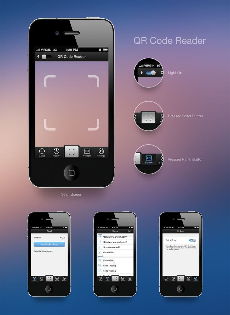 mobile spy app qr scanner