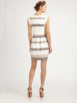 Armani Colorblock Dress