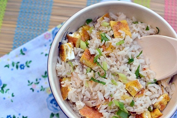 Sinangag - Philippine Garlic Fried Rice | Asian Breakfast | Pinterest
