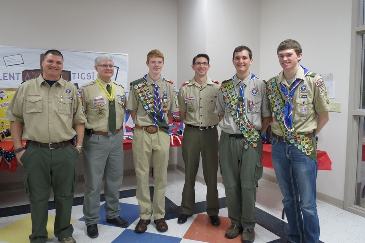 and the other Eagle Scouts at the COH. Once an Eagle, always an Eagle