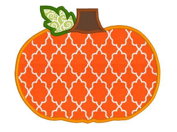 Buy get free cute pumpkin applique machine