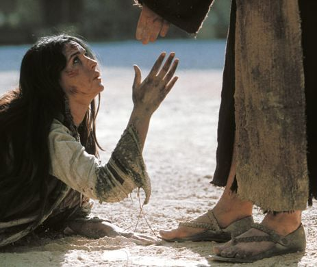 Image result for jesus and mary magdalene passion of the christ