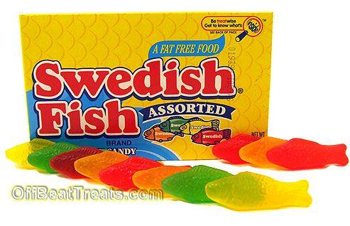Swedish fish good eats drinks pinterest for What is swedish fish