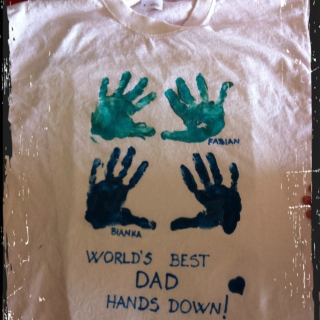 Pinterest Father's Day Craft T-Shirt