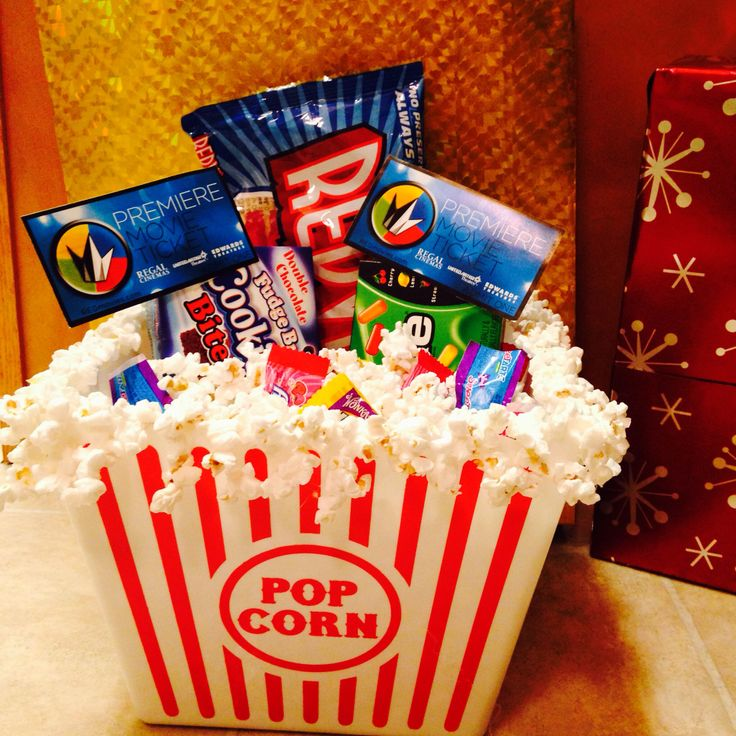 Movie Popcorn Movie Popcorn Gift Basket Ideas